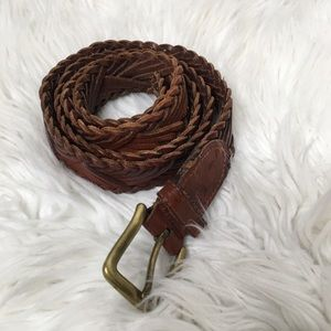 Polo by Ralph Lauren Leather braided belt boho